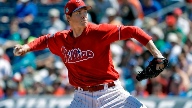 Jerad Eickhoff has been almost as good as Cole Hamels Article Image 0