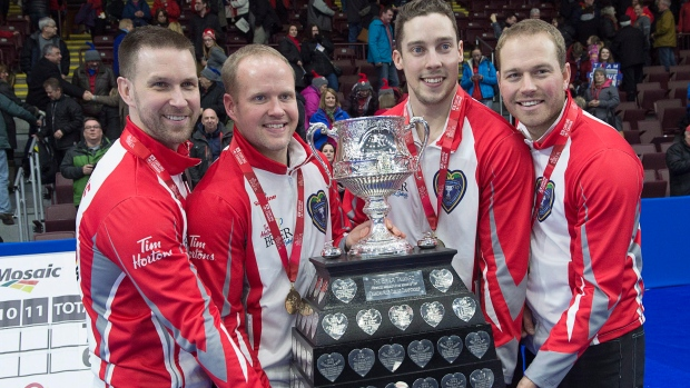 Brad Gushue and Team Newfoundland and Labrador