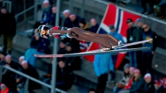 Strong winds force cancellation of ski jump World Cup event Article Image 0