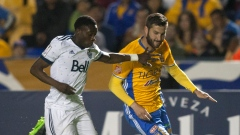 Alphonso Davies and Andre Pierre Gignac