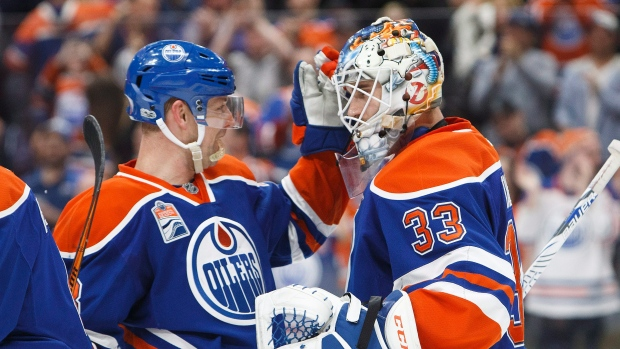 Hendricks, Talbot celebrate
