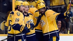 Predators celebrate