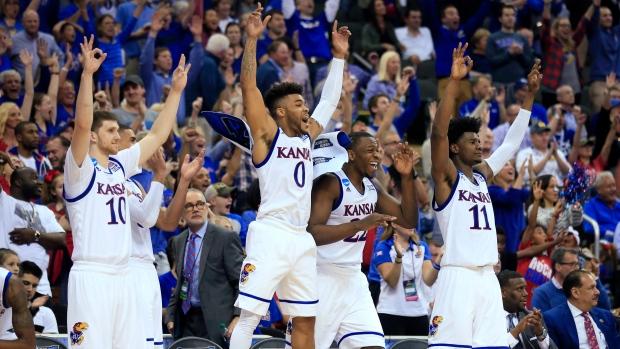 Kansas-celebrates