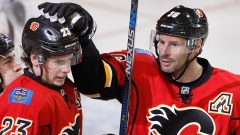 Sean Monahan Troy Brouwer