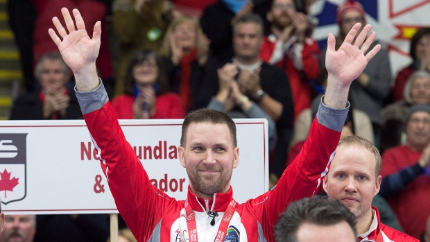 Gushue beats Russian Federation at world men's curling