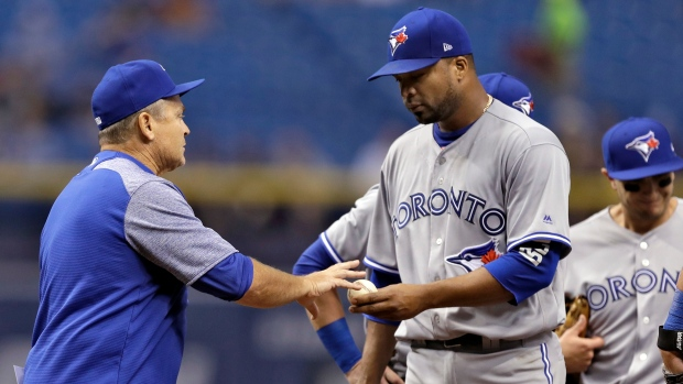 Francisco Liriano and John Gibbons