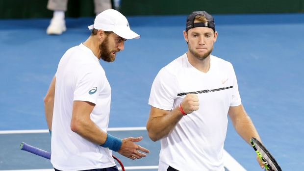 Steve Johnson and Jack Sock