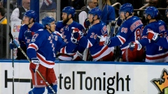 Ryan McDonagh and New York Rangers celebrate
