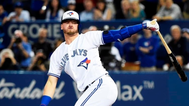 Blue Jays place LHP Happ on 10-day DL with sore elbow
