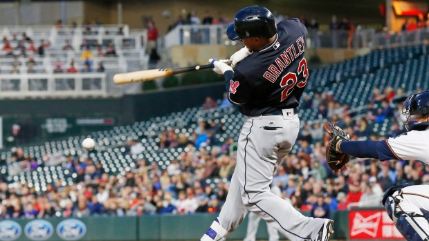 Indians OF Brantley goes from paternity list to DL
