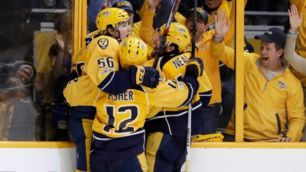 Kevin-fiala-mike-fisher-james-neal