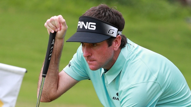 Watson in clubhouse lead at weather-hit Shenzen