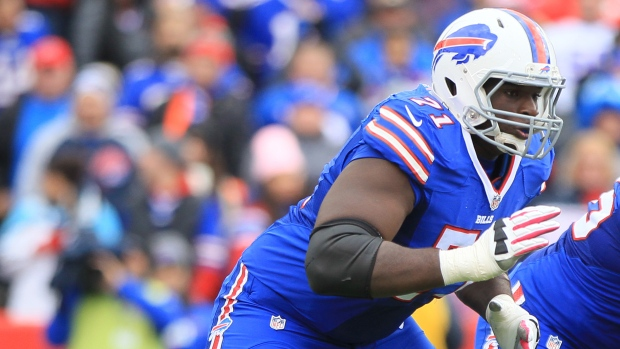Police discover Bills lineman Kouandjio wandering in field