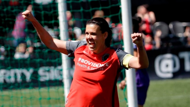 Sinclair named NWSL player of the week