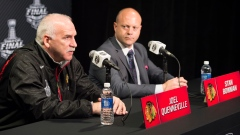 Joel Quenneville and Stan Bowman