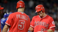 Mike Trout and Albert Pujols