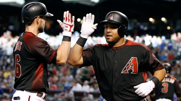 Yasmany Tomas and Chris Owings
