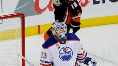 Adam Larsson scores twice in third, Oilers beat Ducks 5-3 to take Game 1 Article Image 0