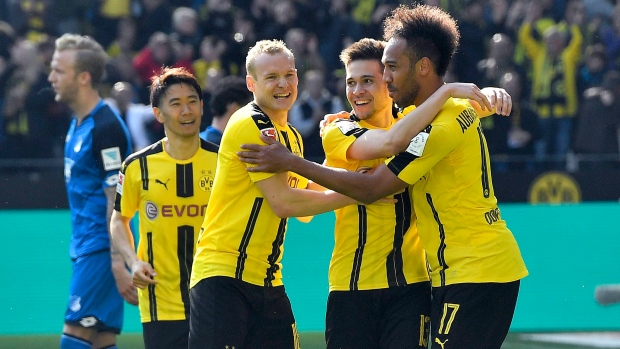 Dortmund Stakes Claim For Champions League Article Tsn