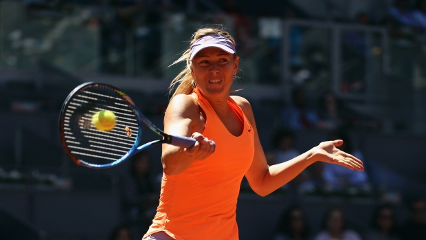 Bouchard dominates top-seeded Kerber to advance in Madrid Open