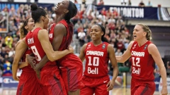 National Women's Basketball Team Canada