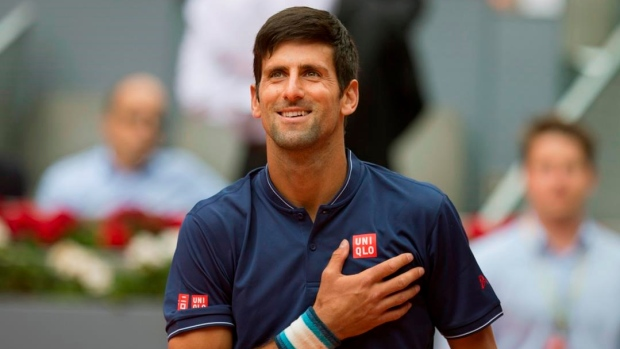 Djokovic safely through to third round of Madrid Open