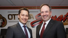 Guy Boucher and Pierre Dorion