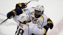 James Neal and P.K. Subban