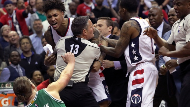 Celtics power past Wizards in Game 7, 115-105