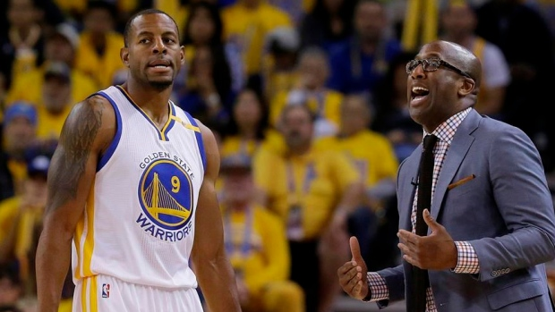 Iguodala out for Warriors with knee soreness