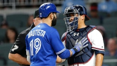 Jose Bautista and Kurt Suzuki
