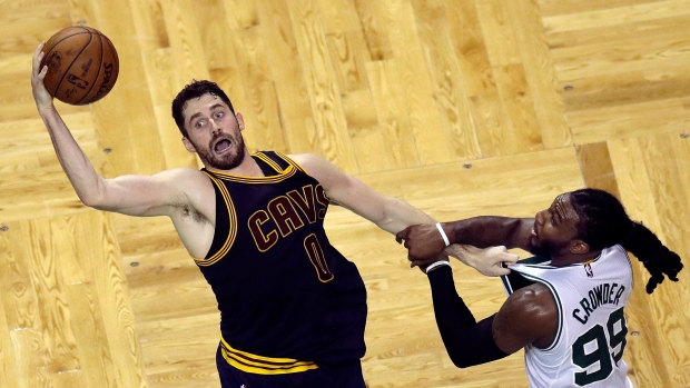 Kevin Love and Jae Crowder