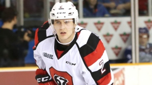 OHL top d-man Hoefenmayer puts faith in Leafs organization