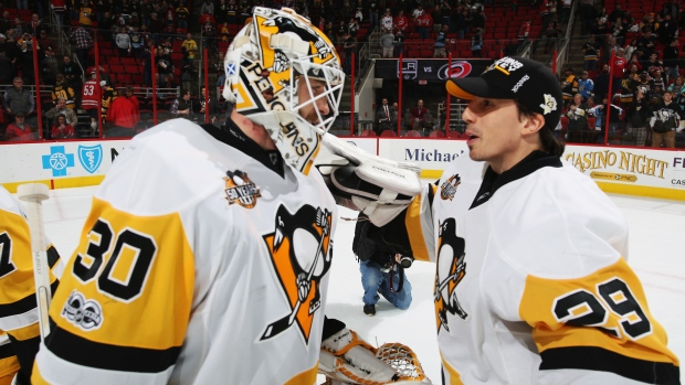 Matt Murray and Marc-Andre Fleury