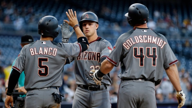Arizona Diamondbacks celebrate