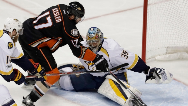 Ryan Johansen out for playoffs with thigh injury