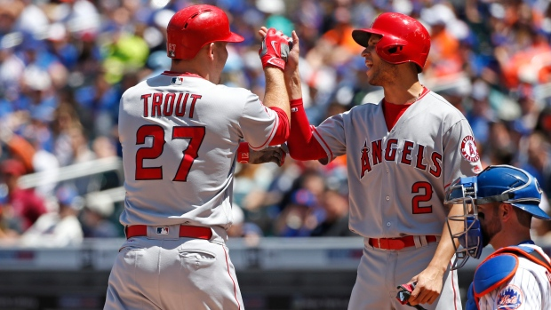 Mike Trout and Angels Andrelton
