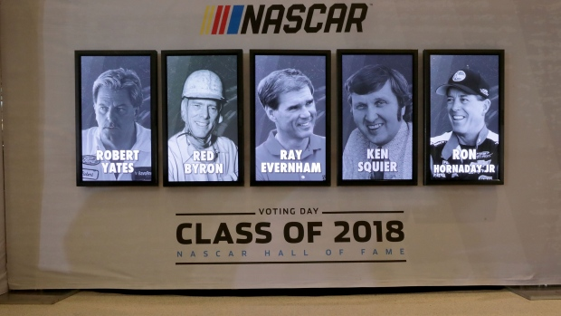 Robert Yates, Red Byron lead 2018 NASCAR Hall of Fame class