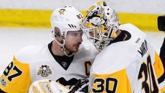 Sidney Crosby and Matt Murray