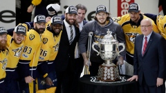 Predators celebrate with Campbell Bowl