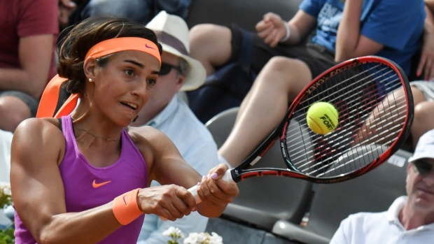 Garcia comes back from the brink against Pliskova in Strasbourg