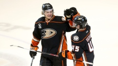 Hampus Lindholm and Sami Vatanen