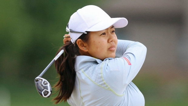 Lewis, Hsu on top after first round in Ann Arbor