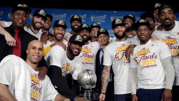 Cavaliers Celebrate Eastern Conference Championship