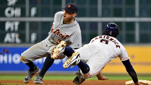 Tigers place Kinsler on 10-day disabled list