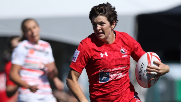 Canada defeats Australia to earn berth in women's rugby sevens final