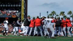 Buster Posey and Nationals-Giants Brawl