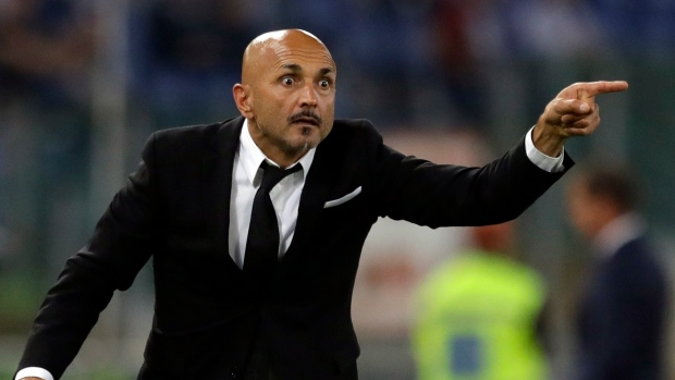 Roma announce departure of manager Luciano Spalletti