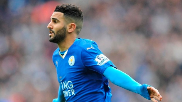 Manchester City's Riyad Mahrez targeting Champions League glory