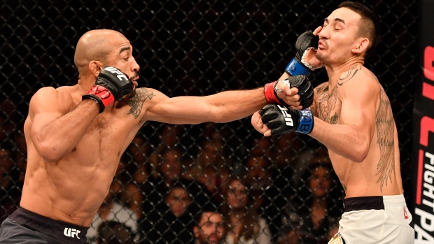 Max Holloway vs. Jose Aldo II Set For UFC 218 Main Event
